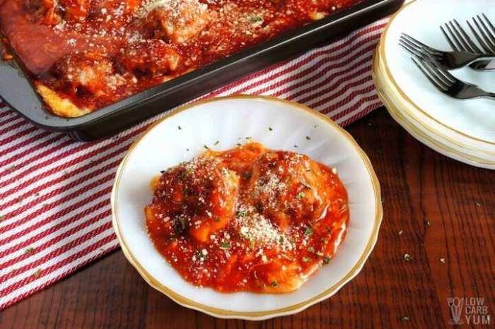 Meatball Parm Casserole